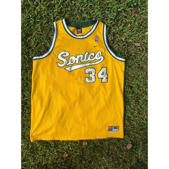 buy online 20414 b136f Vintage Ray Allen SuperSonics jersey